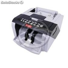 Banknote counter with UV detection MG1 and MG2 IR DD rechargeable battery