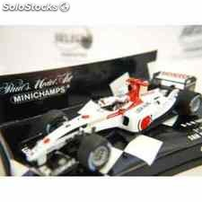 Bar honda 006 button 1º san marino formula 1 escala 1/43 minichamps