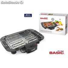 Barbacoa grill eléctrica basic home - basic home - 8433774659204 - BE02013965920