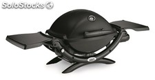 Barbacoa Weber Q 1200 Black de Gas