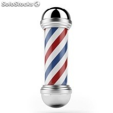 Barber pole chrome