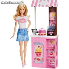 Barbie carritos de merienda - Mattel