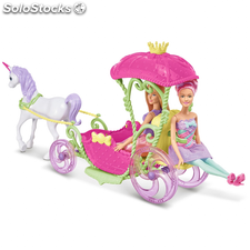 Barbie Carruaje Dreamtopia Sweetville DYX31