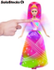 Barbie lumieres arc-en-ciel