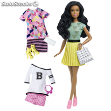 Barbie Muñeca Barbie Fashionistas fabulosa DTD97