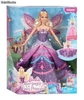 Barbie - Princesa Catania con falda y alas desplegables (Mattel