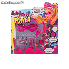 Barbie princess to the rescue beauty set 12 pz