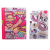Barbie sparkle the day beauty book lote 13 pz