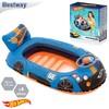 Barca Hot Wheels hinchable 112x71cm