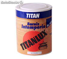 Barniz intemperie agua brillo titan 1 l
