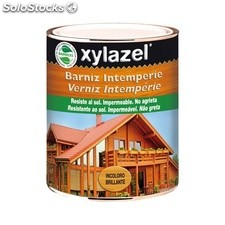 Barniz Intemperie Brillante Xylazel 375 mL