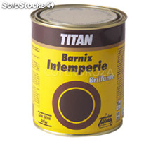 Barniz intemperie titan 375 ml