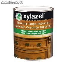 Barniz Interior Xylazel Colores 375 mL Nogal