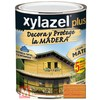 Barniz para madera 375 ml roble xylazel plus mate