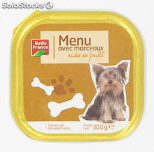 Barq.chien poulet 300G bf