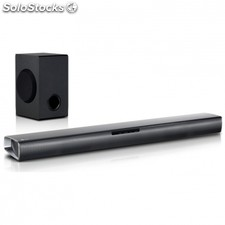 Barra de sonido compacta lg SJ2 - 160W rms - subwoofer inalámbrico - optical-in
