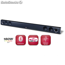 Barra de sonido LG NB2431A 160W Bluetooth soundbar 2.0 Dolby Digital inalámbrico