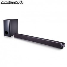 Barra de sonido LG sh2 slim - 2.1 - 100w - subwoofer con cable - bluetooth 4.0