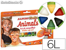 Barra maquillaje alpino set de maquillaje animals