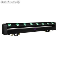 Barra Movil Led Rotatoria Tipo Beam Multicolor 8x8w Luz Beam Quad Led rgbw