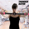 Barre d'exercices rehausse-poitrine Thunder Baton - Photo 1