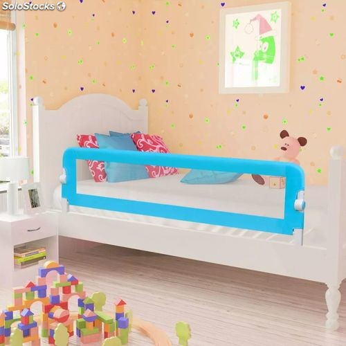 barri res de lit barri res de lit pour enfants 150 x 42 cm bleu produits france. Black Bedroom Furniture Sets. Home Design Ideas