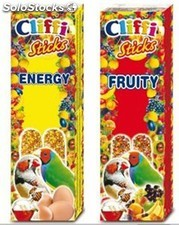 Barritas tropical frutas del bosque