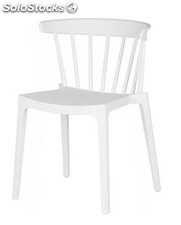 Barrot chaise blanche