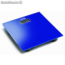 Báscula Laica PS1008 dispaly LCD, color azul, hasta 150 kg