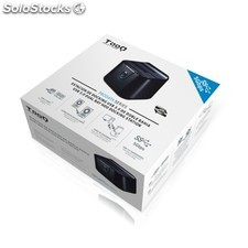 Base Docking Station usb 3.0 Doble sata negra
