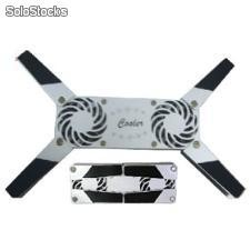 Base enfriadora para notebook, laptop con 2 ventiladores.