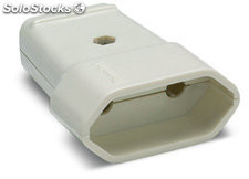 Base movil 10A-250V blanco