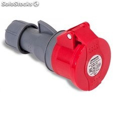 Base Movil Cetac 3P+n+t 16A/380-415V Ip44 Roja Famatel
