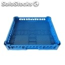Base rack with small holes for mixed items - mod. 100150 - rack dimensions cm l