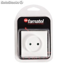 Base Superficie Tt 16A-250V Blister Famatel