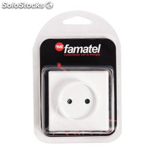 Base Superficie Tt 16A-250V Blister Famatel Famatel