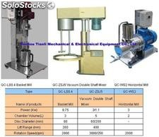 Basket Mill/Vacuum Double Shaft Mixer/ Horizontal Mill