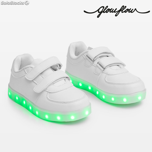 6ca4d1f05541c Baskets LED pour Enfants GlowFlow Kids - Photo 2
