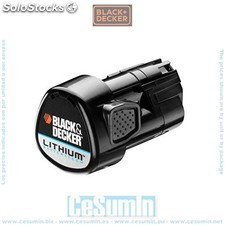 Bateria 10.8V 1.5Ah Litio - Black and Decker - Ref: BL1510-XJ