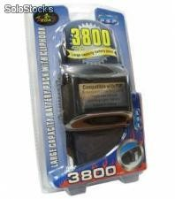 Bateria battery pack do psp 3800 mah