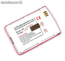 Bateria para LG KG800 chocolate color rosa, Litio Ion