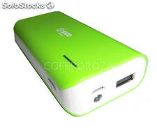 Bateria portatil carga movil elco 5200 mah pdb-55