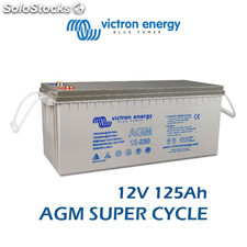 Batería Victron Energy AGM Super Cycle 12V 125Ah