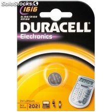 batteria al litio a bottone 3 volt cr1616 duracell 49559