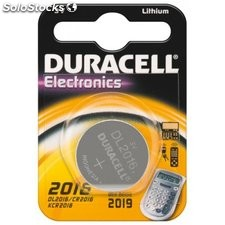 batteria al litio a bottone 3 volt cr2016 duracell 49561