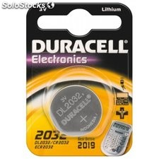 batteria al litio a bottone 3 volt cr2032 duracell 49575