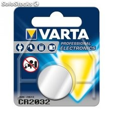 batteria al litio a bottone 3 volt cr2032 varta 48059