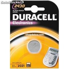 batteria al litio duracell cr2430-dl2430 49576