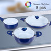 Batterie de Cuisine Ceramic Chef Pan (5 pièces) - Photo 1