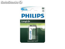 Batterie Philips Longlife 9V Block (1 St.)